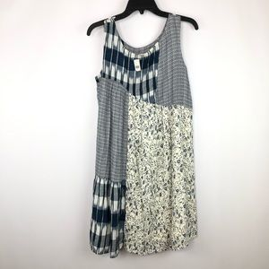 Anthropologie Holding Horses Patchwork Swing Dress